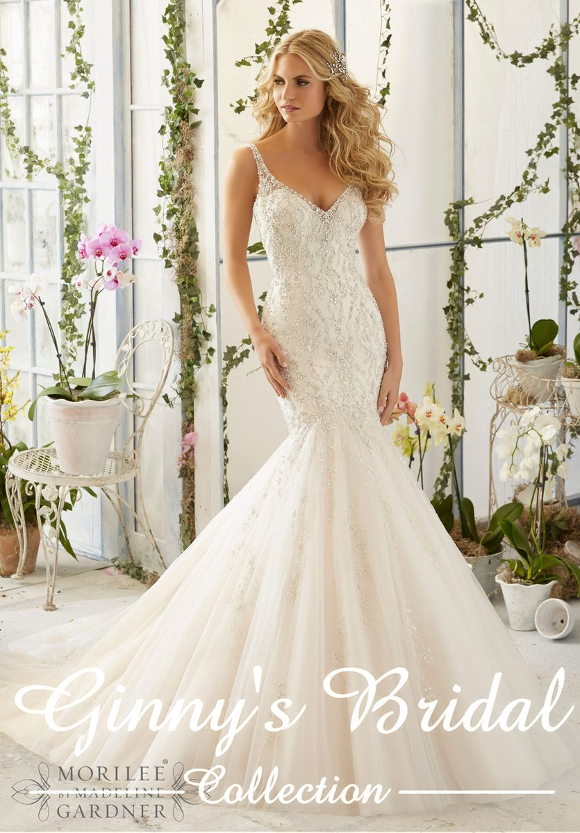 Mori lee madeline gardner wedding dress  Mori Lee Bridal Wedding Dress   Wedding  Pinterest  Mori lee