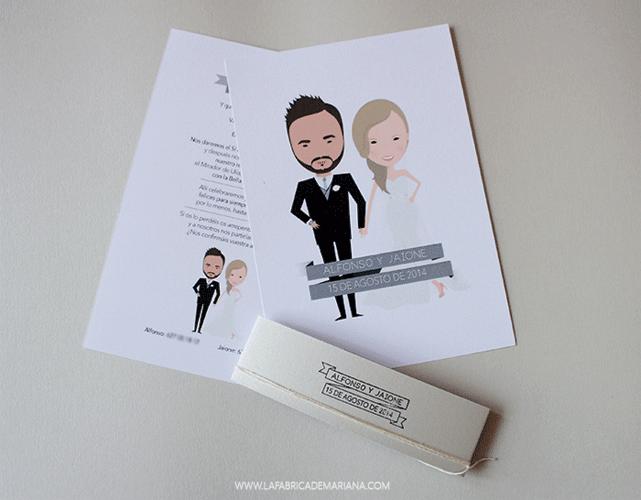 Invitaciones de boda originales donosti ideas - Tarjetas de invitacion de boda originales ...