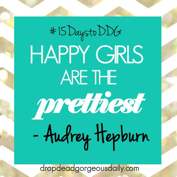 #15daystoDDG : Find your happy-makers (day 6) - dropdeadgorgeousdaily.com