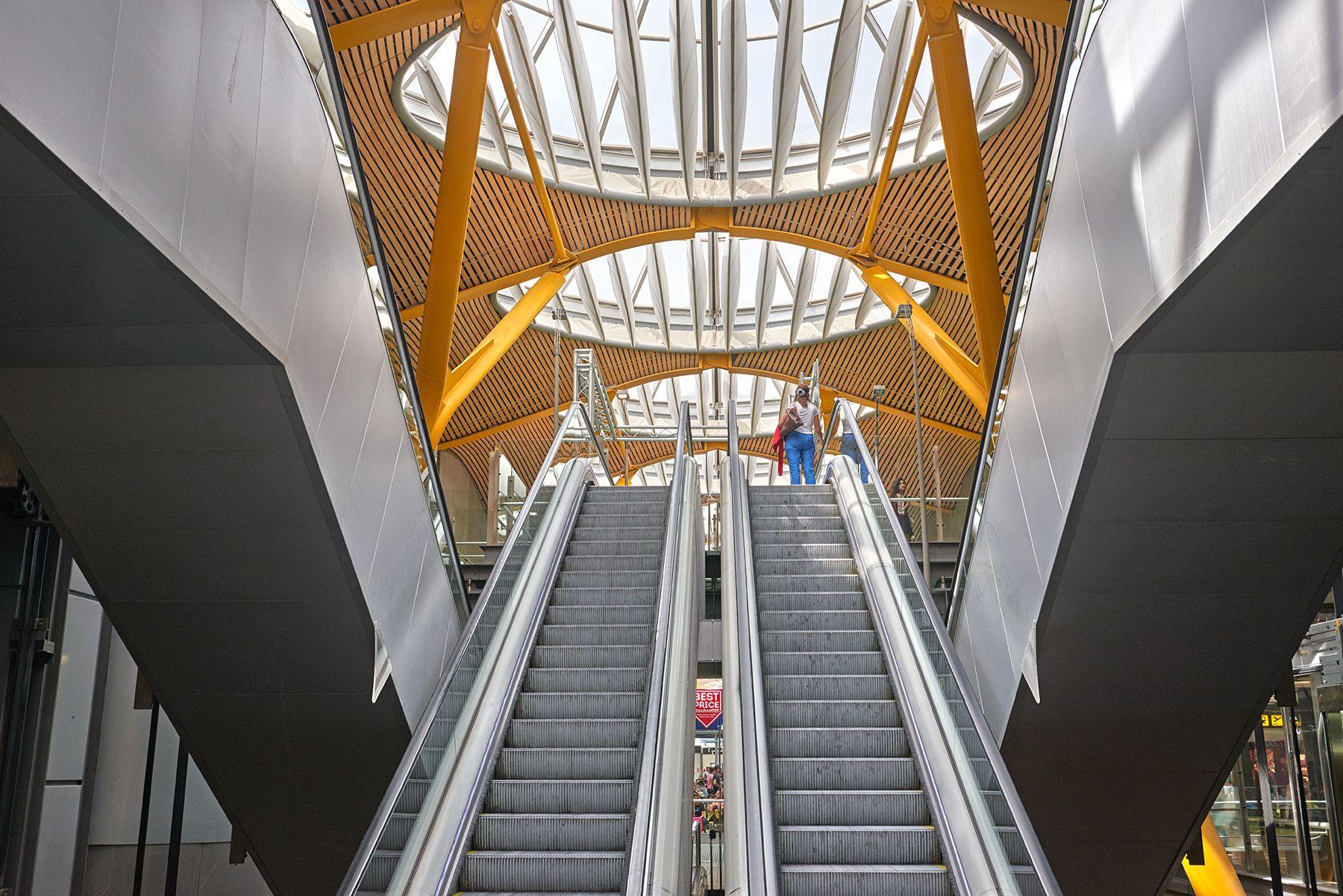 Detalle de la T-4 Barajas -Madrid-