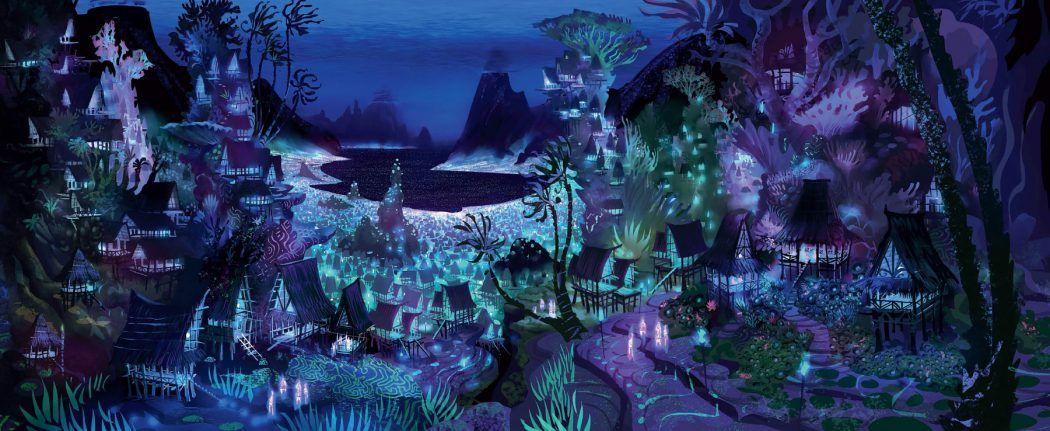 The Art Of Moana Concept Art World Disney Art Books Disney Concept Art Moana Concept Art