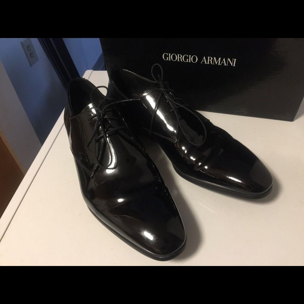 giorgio armani shoes men