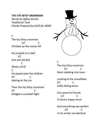 itsy bitsy snowman a real cute little illustrated song. Black Bedroom Furniture Sets. Home Design Ideas