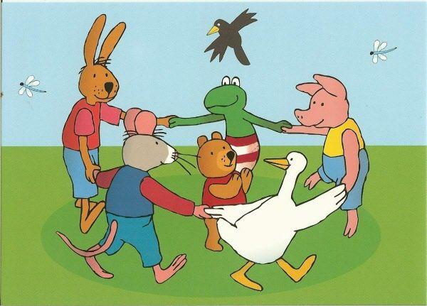 kikker en zijn vriendjes | Kikker thema, Kikker, Thema