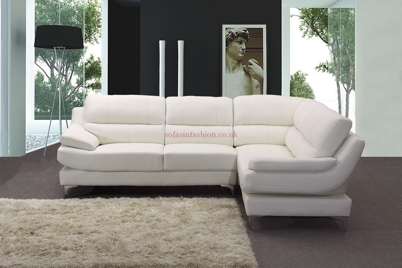 Giovanni Leather Corner Sofa