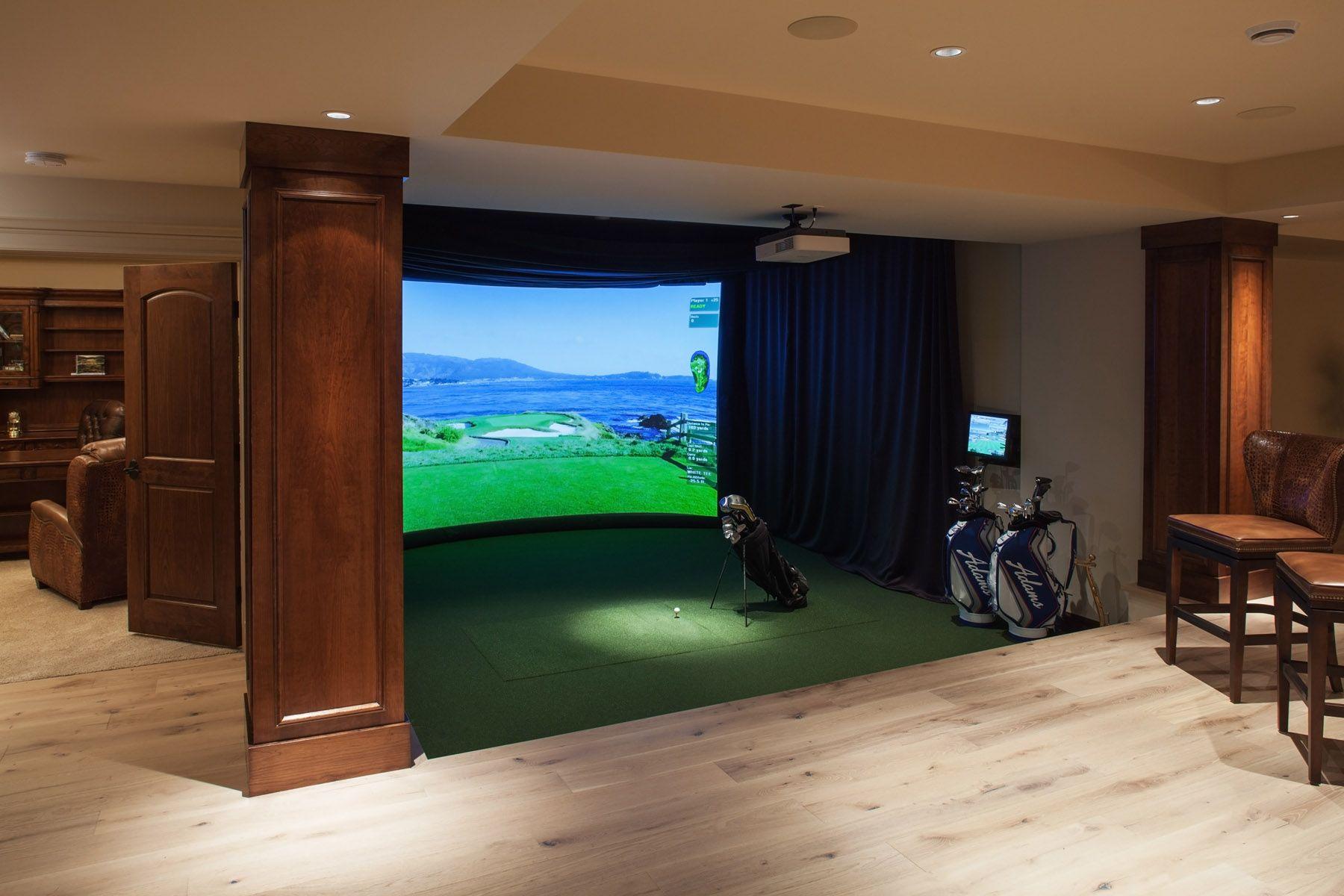 Golf Man Cave Garage