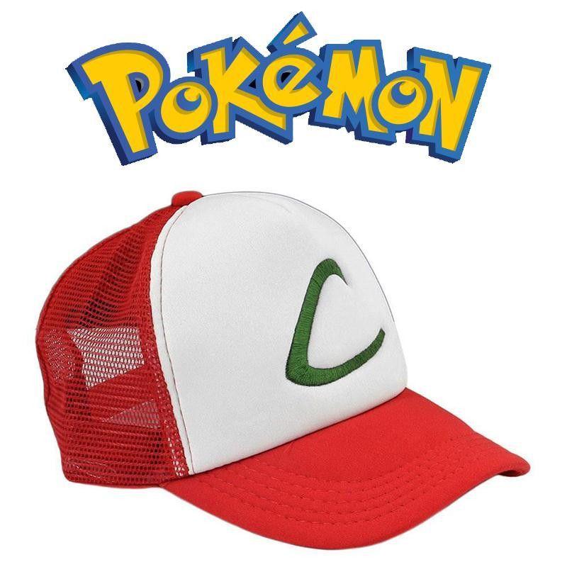 Ash Ketchum Pokemon Go Hat CapCosplay Trucker Hats 1 Size Fits All
