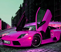 awsome, car, beautiful, girly, pink