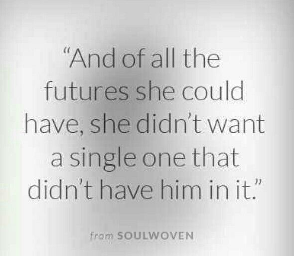 Futures Quotes And Of All The Futures She Could Have She Didn't Want A Single One