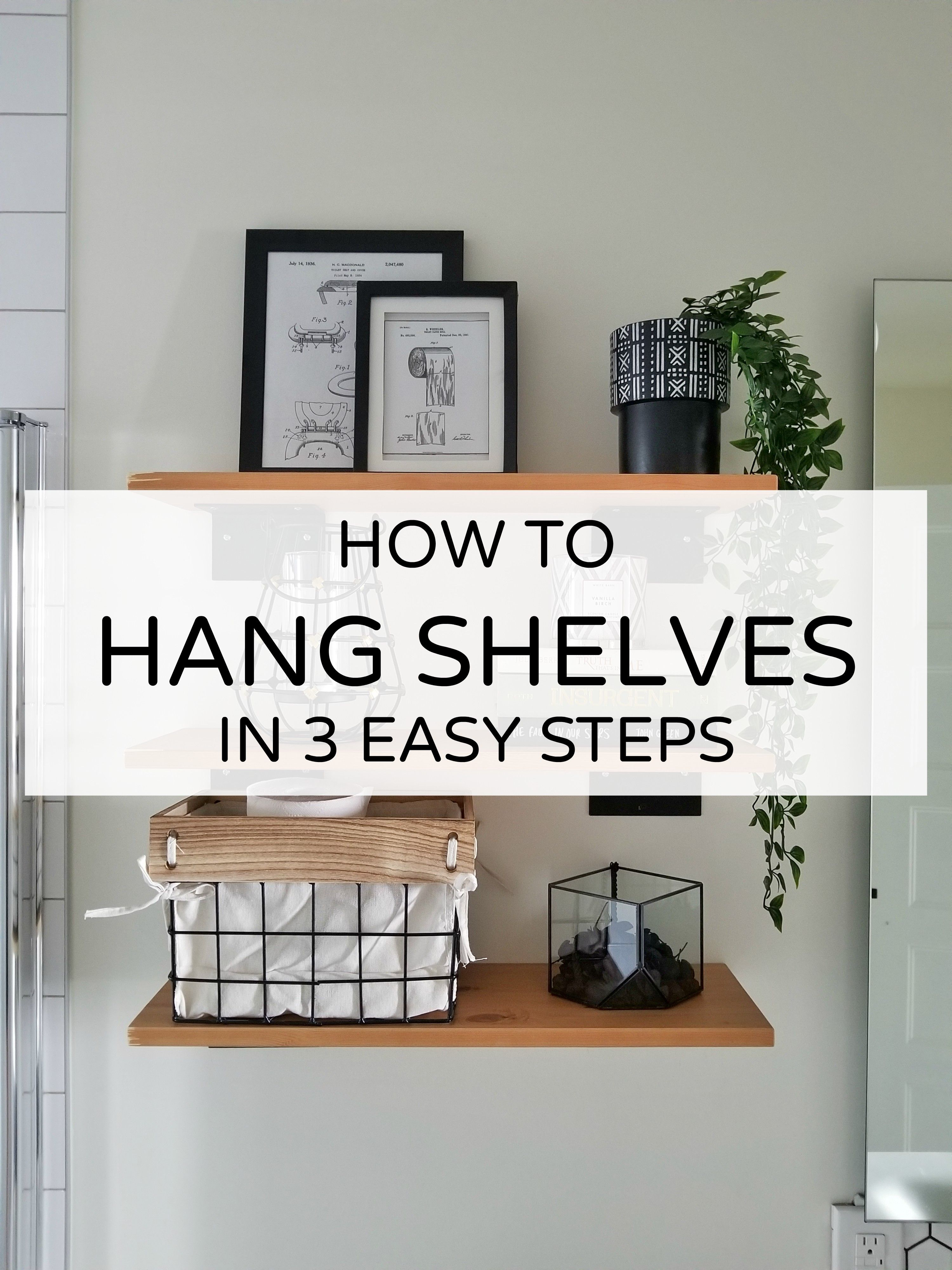 Ikea Wall Shelves How To Hang Shelves In 3 Easy Steps Diy Ikea