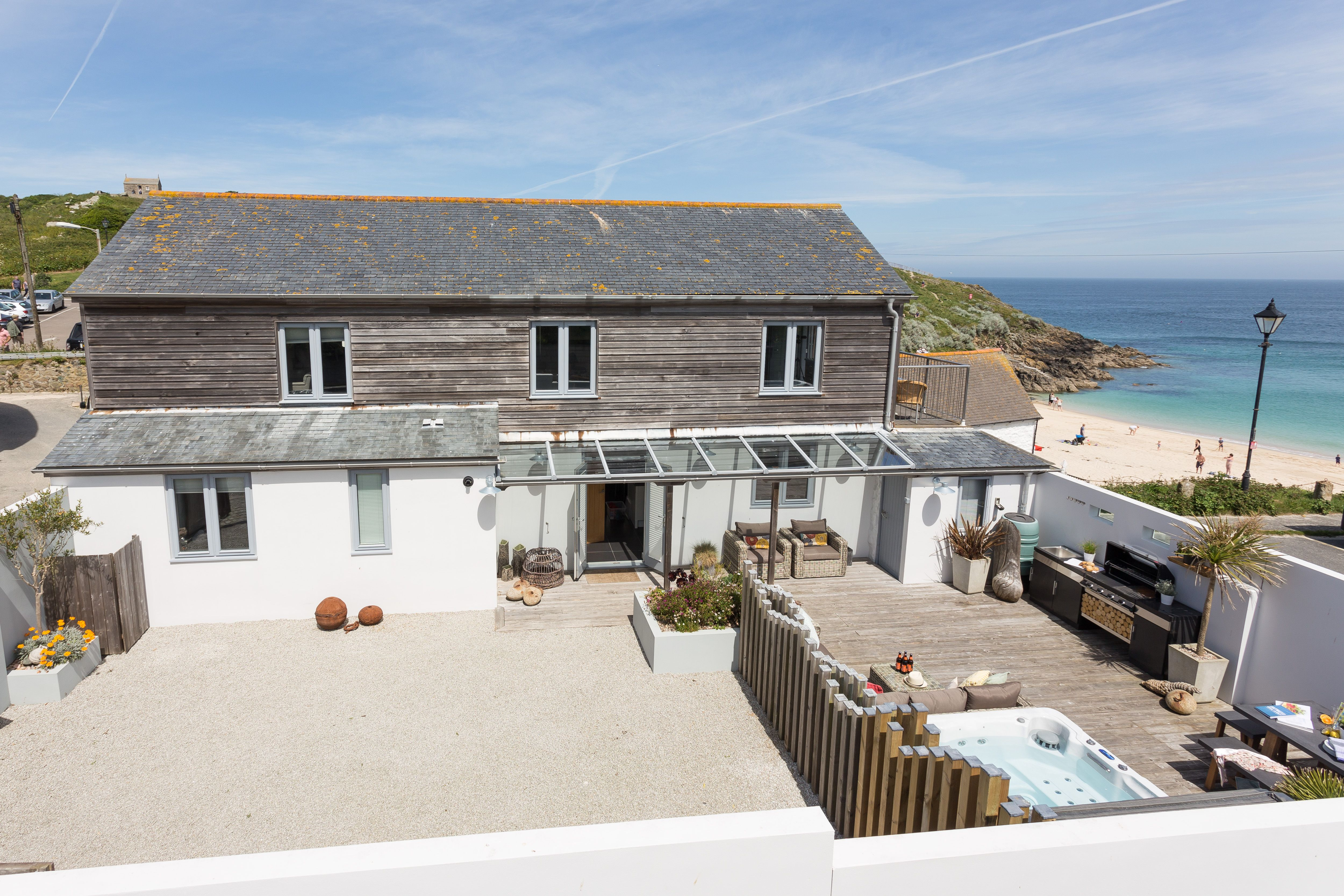 Island Wastrel St Ives Open The Gates To The Magic Of Island Wastrel And Step Into A Stunning Coastal Oasis Within Coastal Oasis Holiday Home Holiday Cottage