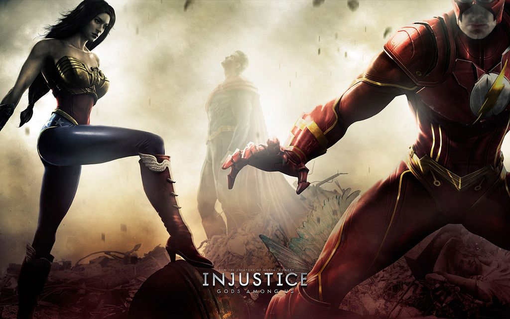 Injustice Gods Among Us Movie Wallpapers Injustice Animation Movie