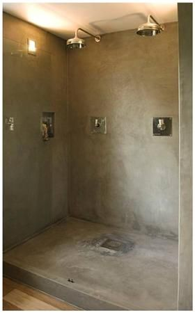 Interior Design Decoration Bathroom Texture Tadelakt