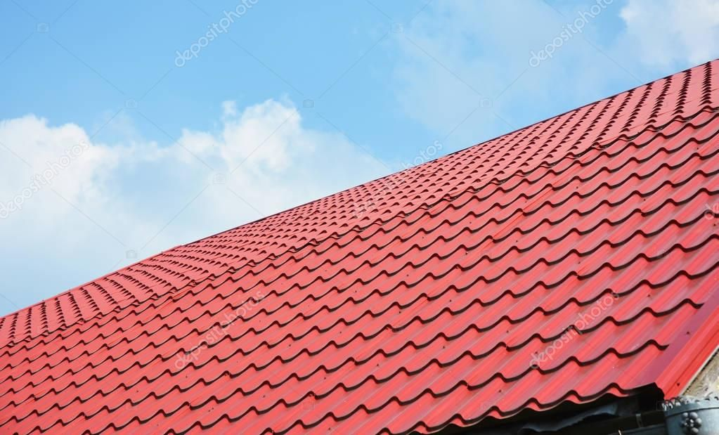 Red Metal Roof Tiles Metal Roof Shingles Roofing Construction Roofing Repair Sponsored Tiles Metal In 2020 Metal Roof Tiles Metal Shingle Roof Roof Repair