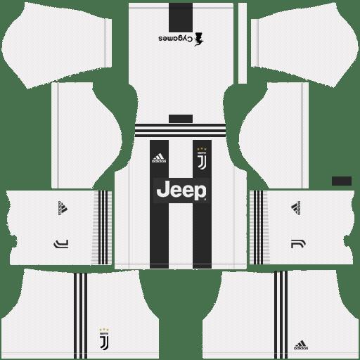 F C Juventus 2018 19 Dream League Soccer Kits 512x512 Url Soccer Kits Juventus Real Madrid Kit