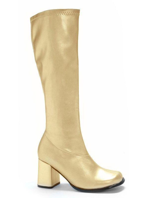 0c6c74bd87e Gogo (Gold) Adult Boots. Gogo (Gold) Adult Boots Halloween Costume Shoes ...