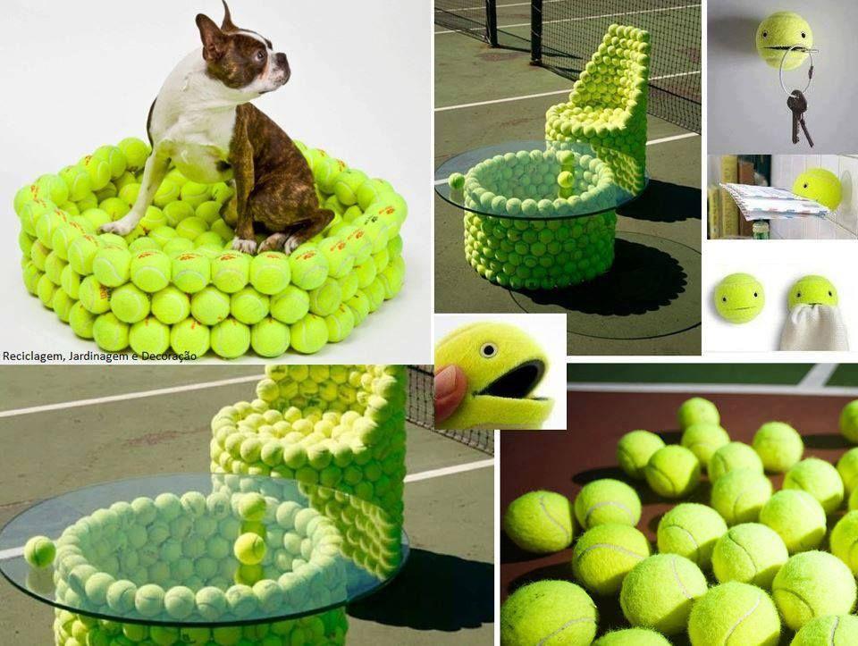 Recicla pelotas de tenis :)
