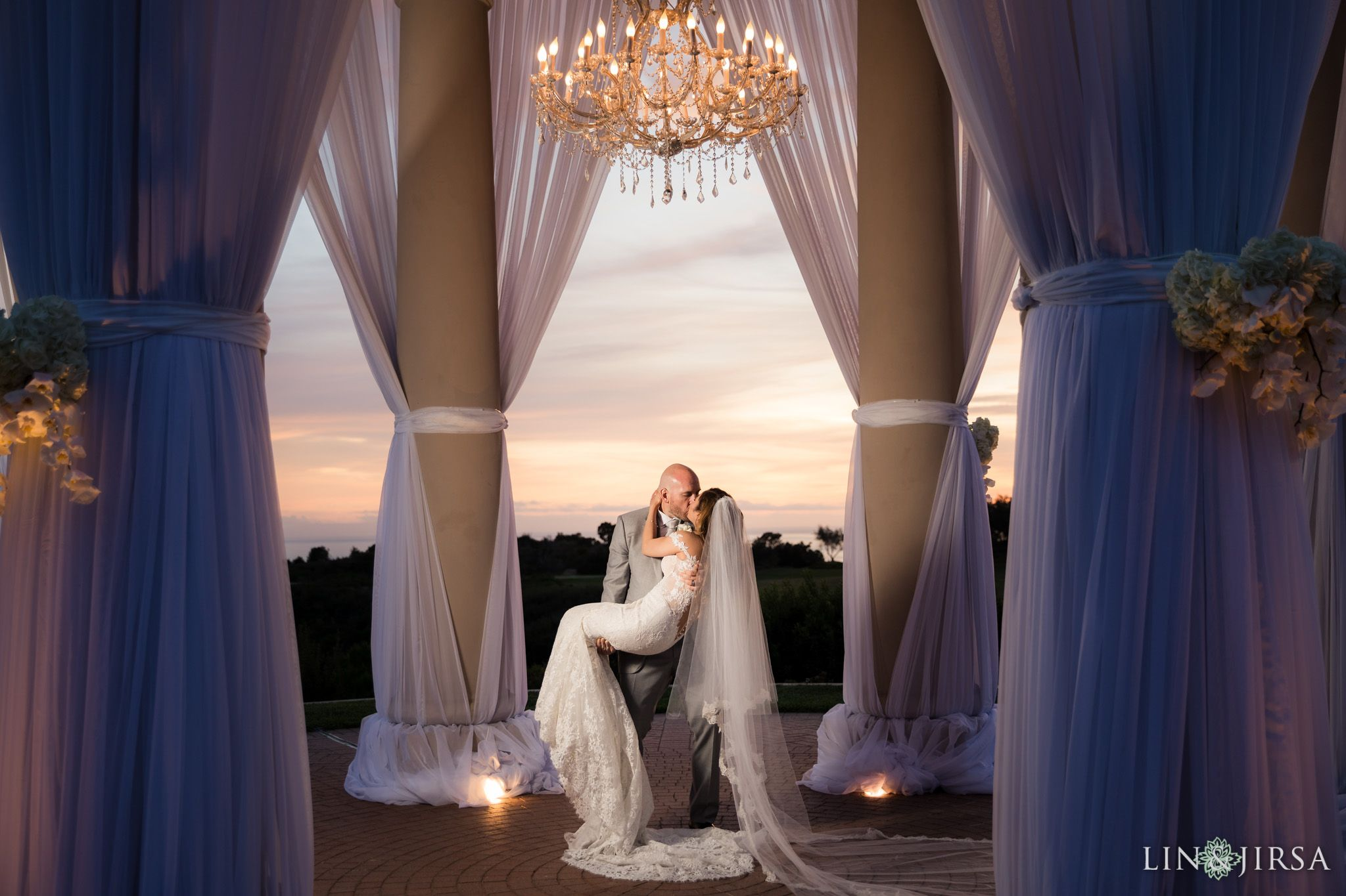 Pelican Hill Resort Orange County Wedding #wideangle