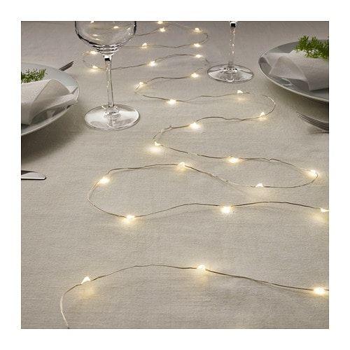 Vissv Led String Light With 40 Lights Ikea