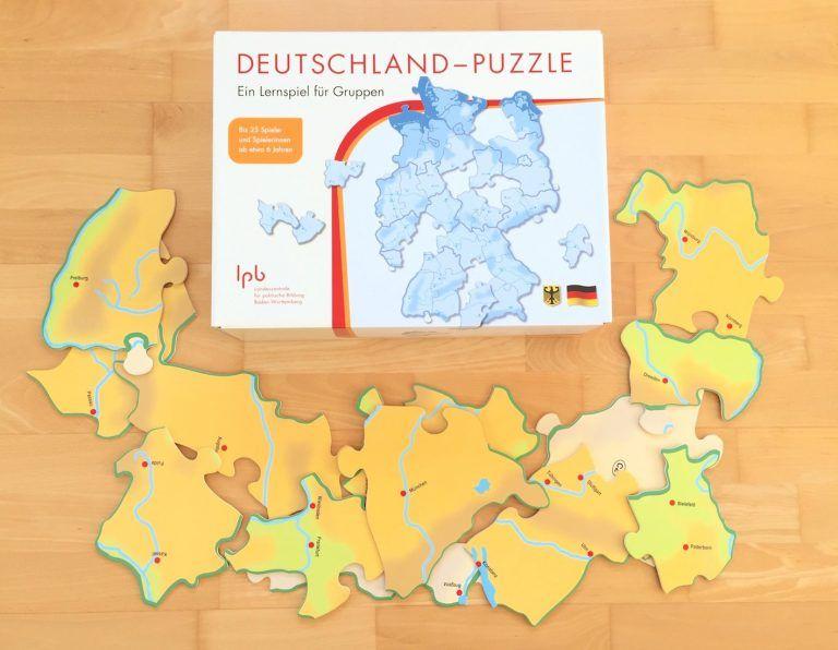 deutschland und europapuzzle  grundschule