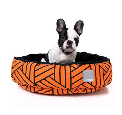 Sacred Pet Boutique Fuzzyard Reversible Dog Bed