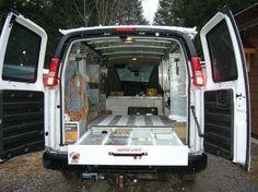 Van Storage Luxury Van Van Shelving