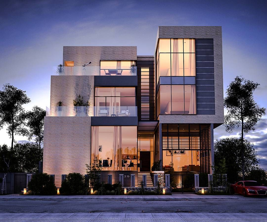 Modern House By Ibrahem Magdy Cairo, Egypt Welcome To