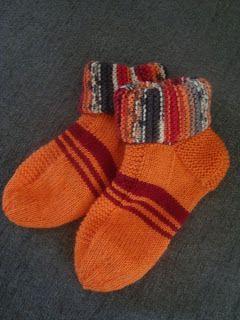 Sukkelat puikot: Loppukesän sukkia