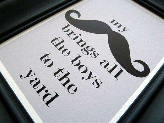 BAHAHA! #mustache