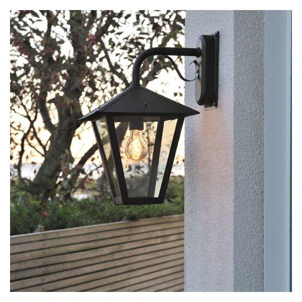 luminaire ext rieur gianna noir jardin fourniture pinterest luminaire ext rieur. Black Bedroom Furniture Sets. Home Design Ideas
