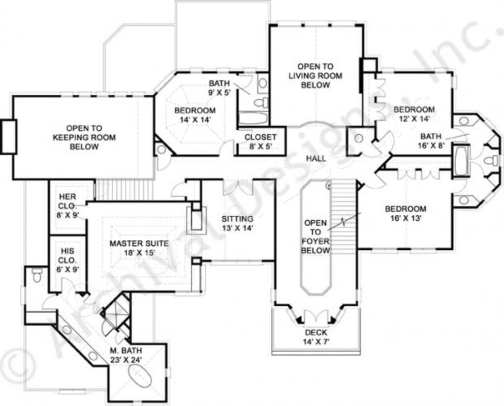 Dunrobin Castle House Plan Castle House Plans House Plans Castle House