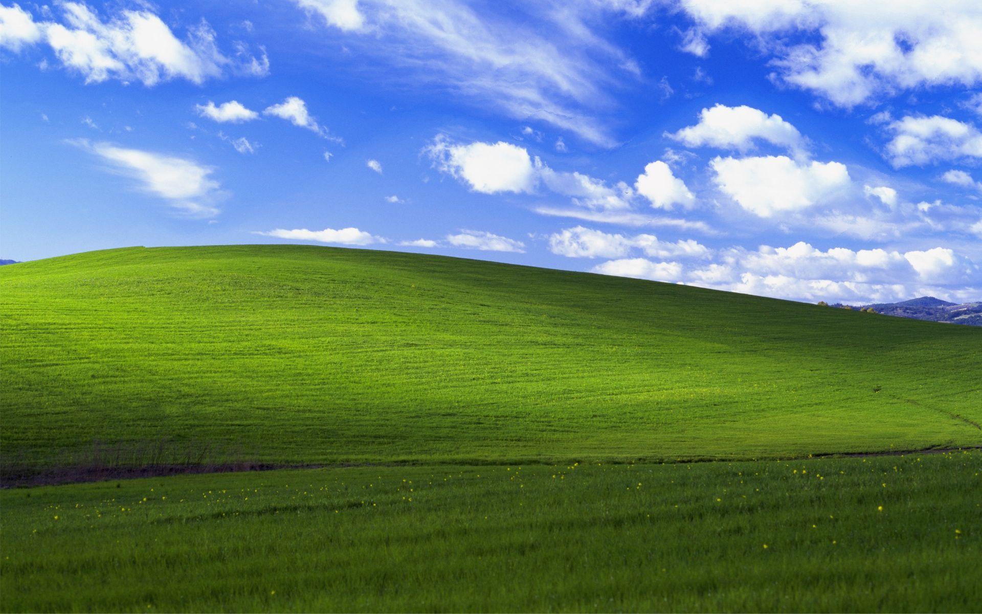 Обои Bliss, xp, windows. Windows foto 13