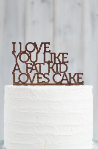 F* yeah I do!!! Cake Topper – grain&co