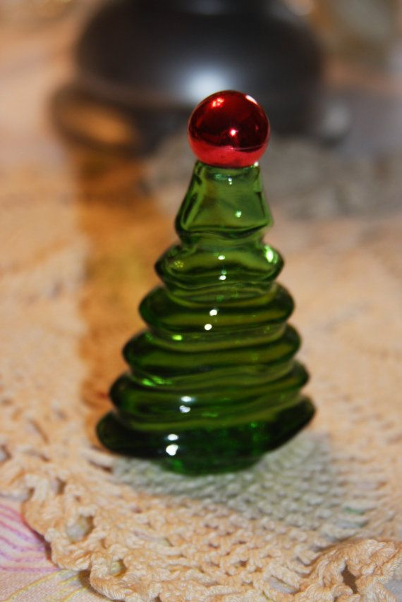 Vintage Avon cologne bottle Christmas tree by hudathotjewelry