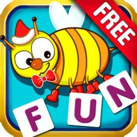 Free learning app Word games for kids, Spelling games