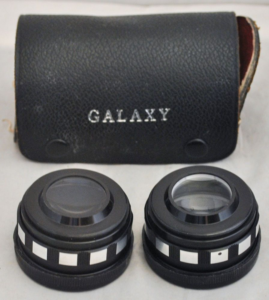 GALAXY Telephoto and Wide Angle Lens Set with Case for KOWA Camera