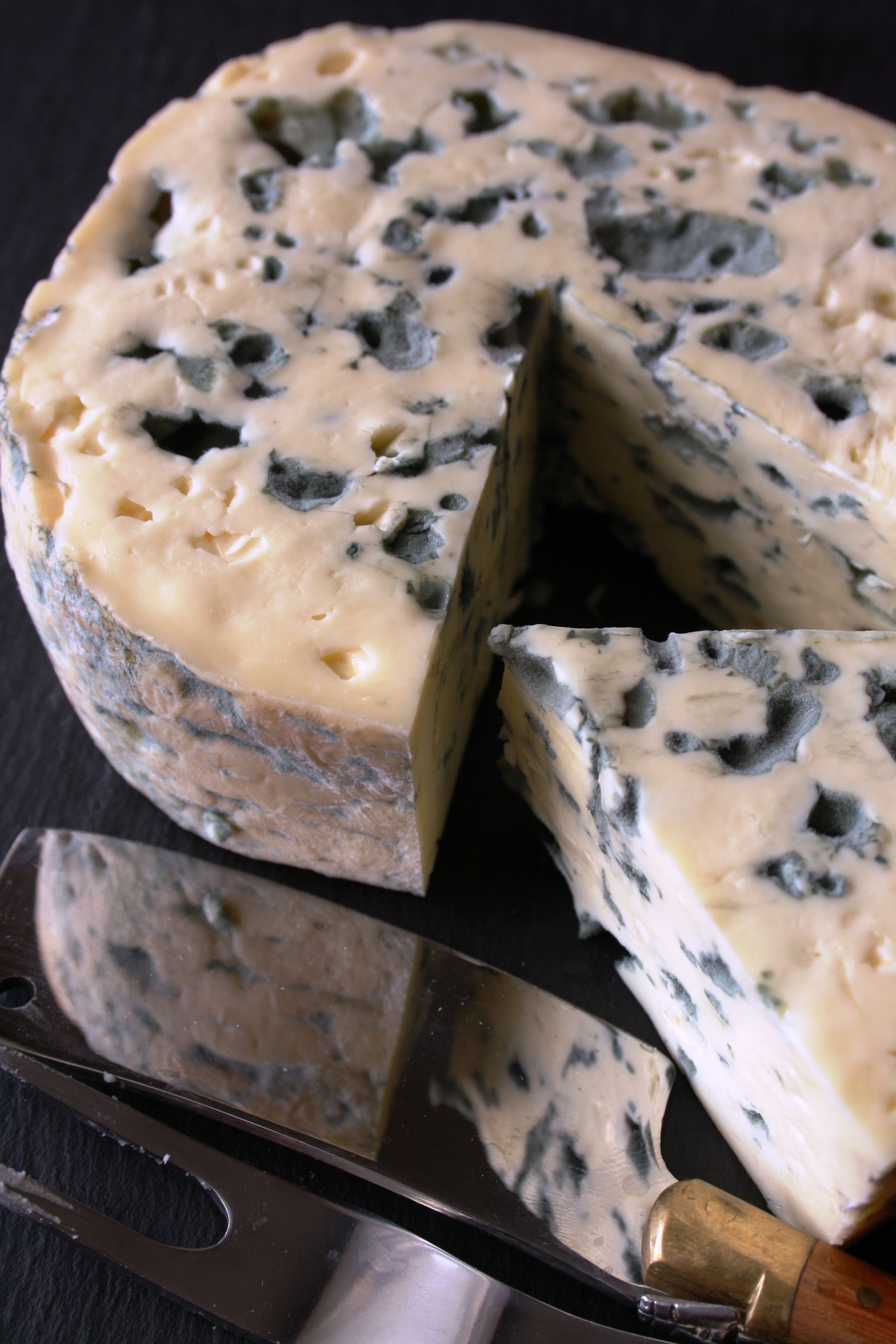 Blue cheese    More foodie lusciousness here: http://mylusciouslife.com/photo-galleries/wining-dining-entertaining-and-celebrating/