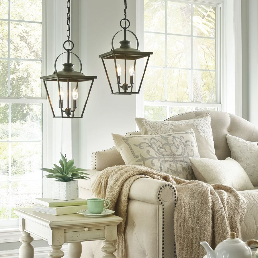 shop kichler lighting arena cove 1201in w olde bronze pendant light with shade at - Bronze Pendant Light