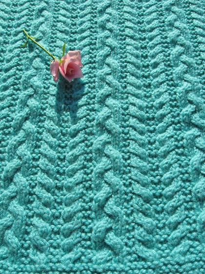 Sydney Claire Baby Blanket By Christine Olson - Purchased Knitted ...