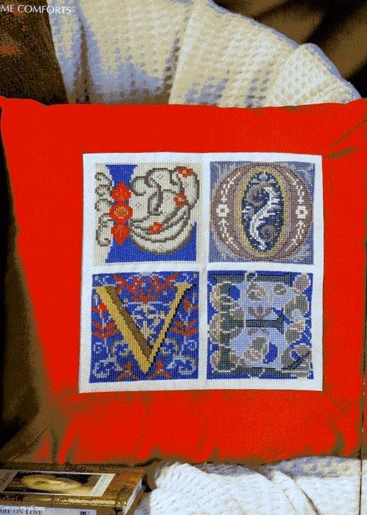 Zweigart Celtic alphabet 1