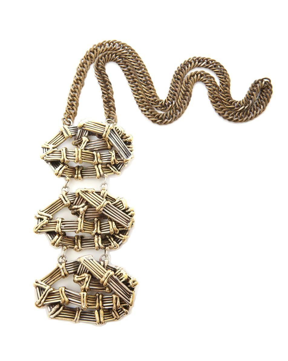 Anndra Neen Geometric Necklace £400