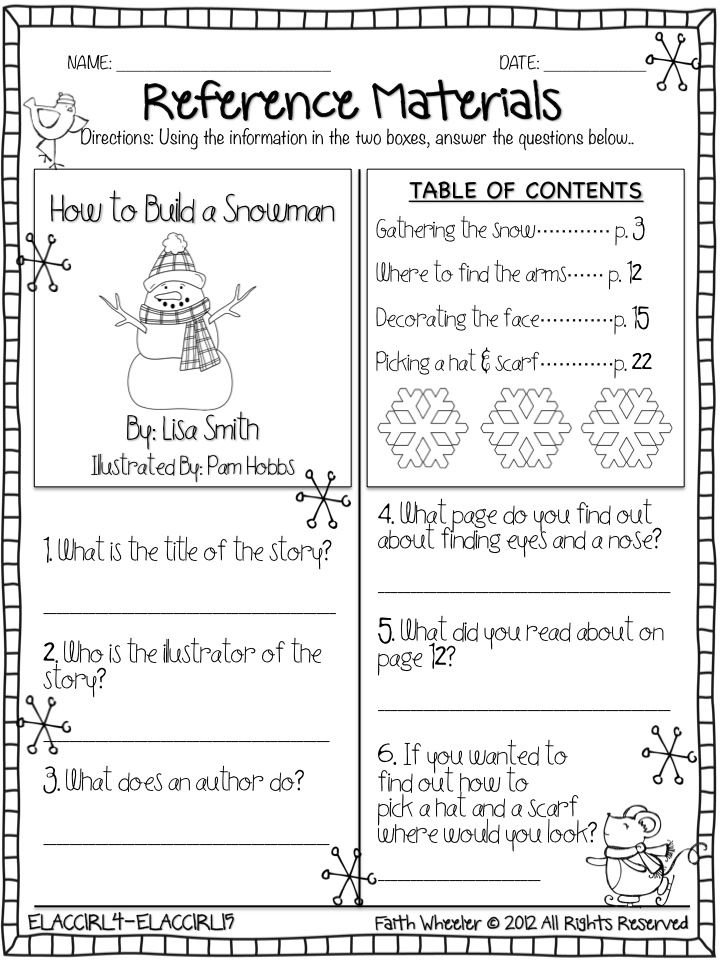 Use As Template  Create Questions About Actual Books To Make