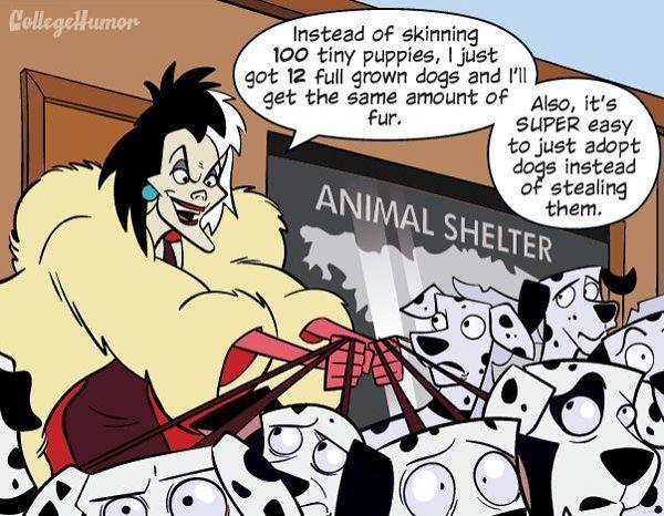 Artist Shows How Dumb the Disney Villains Really Are - moviepilot.com