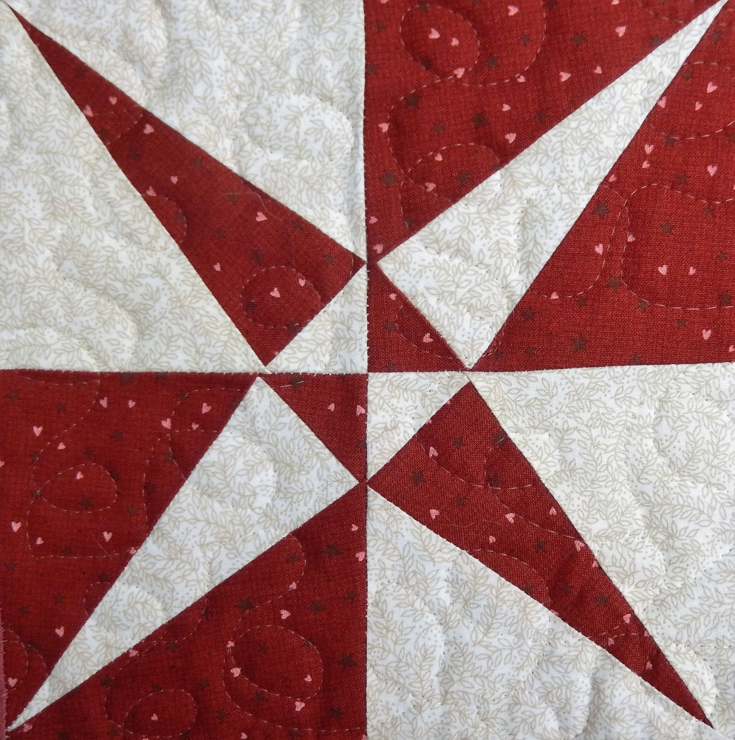 Crossed canoes foundation paper pieced PDF quilt block pattern ...