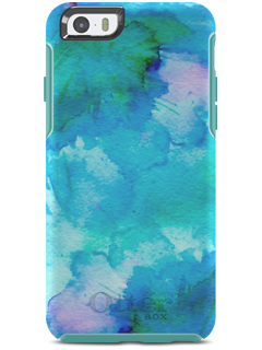 watch d1311 22ada OtterBox Symmetry Series Blue Pond Floral Printed Case - iPhone 6 ...