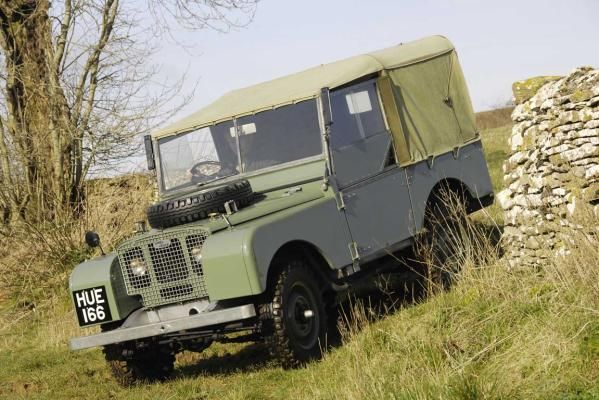 Land Rover Series 1 - subsequently named the Defender.