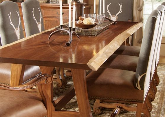 LIVE EDGE Dining Room Table From Harden Furniture, Available At Giorgi  Brothers