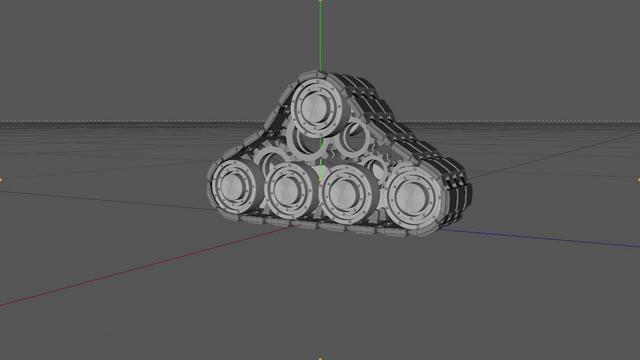 FREE Cinema 4D Xpresso Set Up Tank Tracks by Sparkle*  You