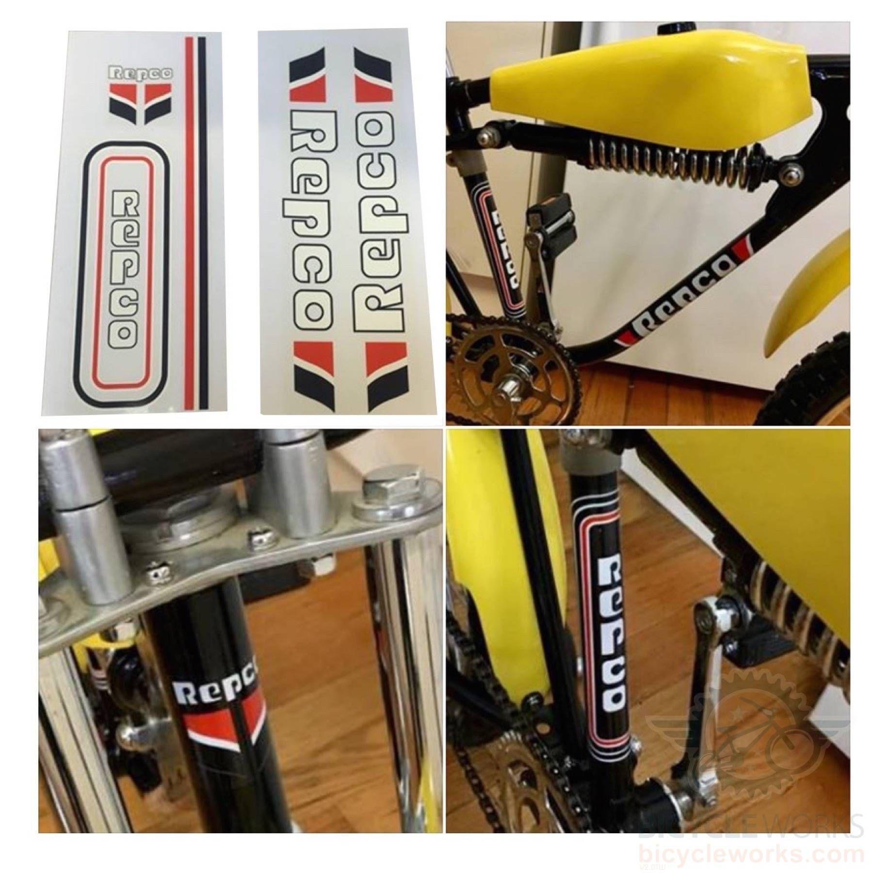 Repco Mx Bike Decal Sticker Kit Sticker Kits Decals Stickers Mx Bikes [ 1800 x 1800 Pixel ]