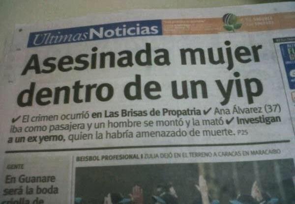"""En Ultimas Nociticias recien comprada por el oficialismo no saben escribir...que sigficara """"YIP"""" o sera Jeep...?"""